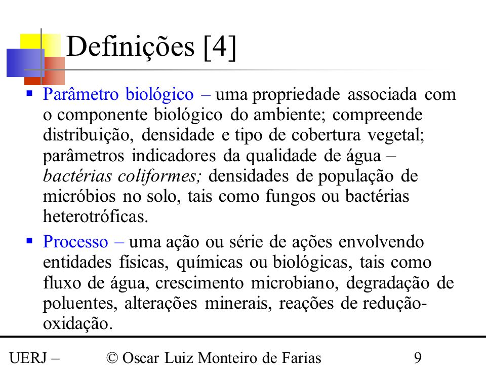 Definições [4]